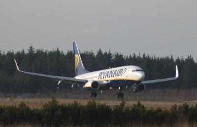 Ryanair, Billund-London nu tre afgange på hverdage - Rejsestart.dk